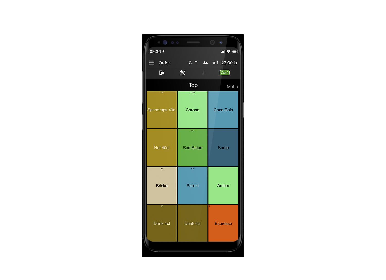 Trivec Mobile order system